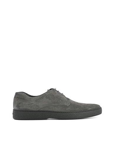 Tod's Homme XXM22A00C20RE0B408 Gris Suède Chaussures À Lacets
