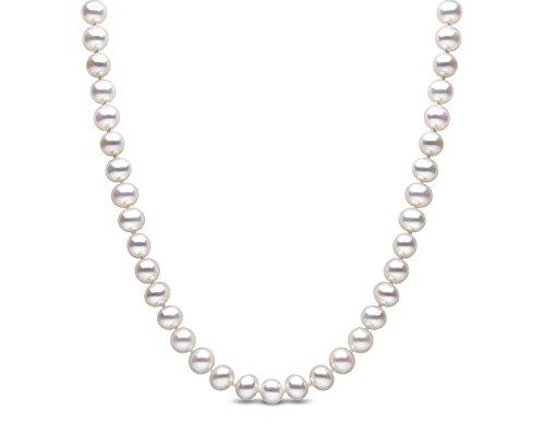 Kimura Pearls - Bracelet - Or blanc - Perle - 46.0 cm - FS7018-w