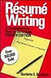 Resume Writing, Burdette E. Bostwick, 0471514160