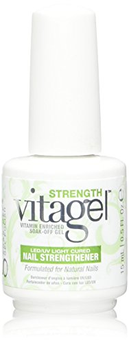 Gelish Vitagel Strength LED/UV Cured Nail Strengthener, 0.5 Ounce by Gelish