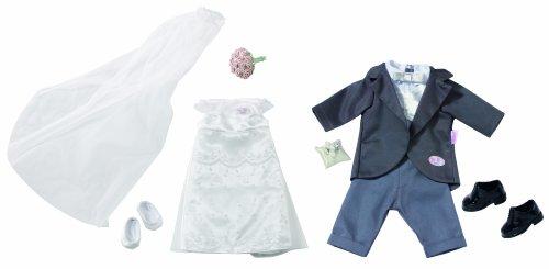 Baby born hochzeitskleid