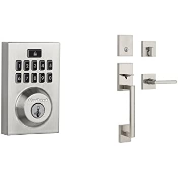 Kwikset 913 Contemporary Smartcode Electronic Deadbolt And