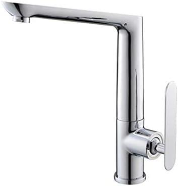 家庭用浴室の蛇口 ホット冷たい水がミキシングに適しキッチンのシンクの蛇口セラミックスプールブラスメッキロータリー蛇口食器洗い機の蛇口 浴室の台所の蛇口