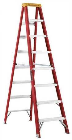 8' Fiberglass 300 Lb. Stepladder, Type Ia by Louisville