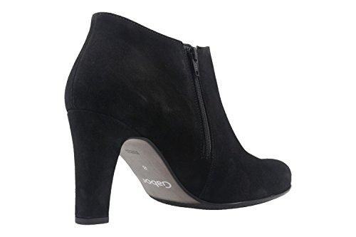 GABOR - Damen Ankle Boots - Schwarz Schuhe in Übergrößen