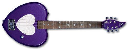 Daisy Rock Debutante Heartbreaker Short Scale Princess Purple Electric Guitar ()