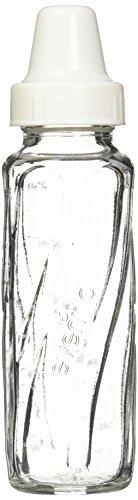 Evenflo 3 Pack Classic Glass Bottle, 8-Ounce - 2 Packs of 3 Bottles