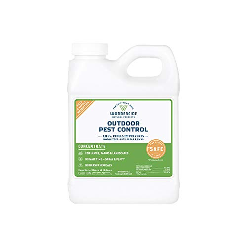 Wondercide EcoTreat - Natural Outdoor Pest Control Concentrate - 16 oz (Get Rid Of No See Ums In House)