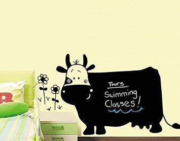 JZK® pizarra en clase de dibujo de vaca Regular ganado se ...