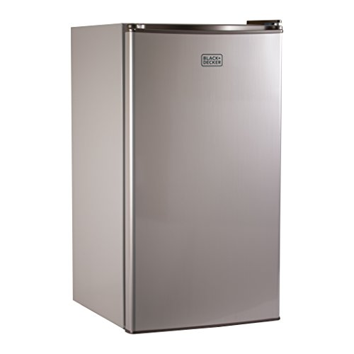 BLACK+DECKER BCRK32V Compact Refrigerator Energy Star Single Door Mini Fridge with Freezer, 3.2 Cubic Ft., ()