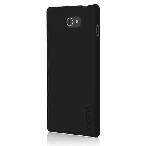 Incipio Feather Case for Sony Xperia M2 - Retail Packaging - Black