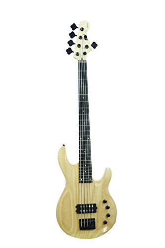 ivy IMM-305 Bass Solid-Body Electric Guitar, Natural