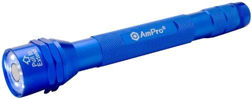 Clam Aluminum Blue (Ampro T19707 Blue Clamshell 6-LED Flashlight/Magnetic Pickup Tool)