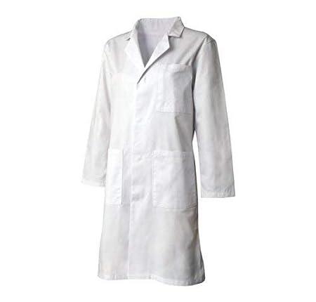 Adults White Poly Cotton Lab Coat Unisex Medical Work Warehouse Laboratory Coat