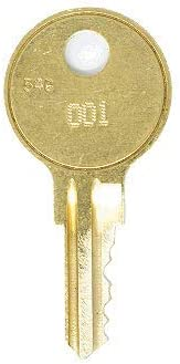 Craftsman 161 Replacement Keys: 2 Keys