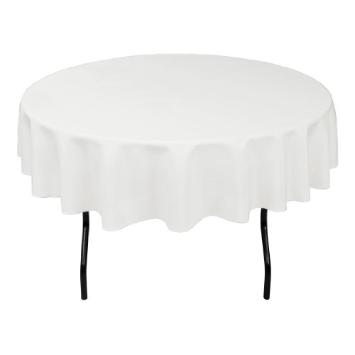 LinenTablecloth 70 Inch Round Polyester Tablecloth product image
