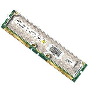 Samsung 256MB RDRAM 800MHz 40-ns 184-Pin RIMM Major/3rd