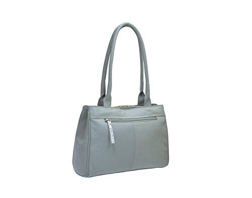Tracolla Grigio 89 grigio BEAU Leather 795 in Pelle Collezione Mala q6xtgAvw