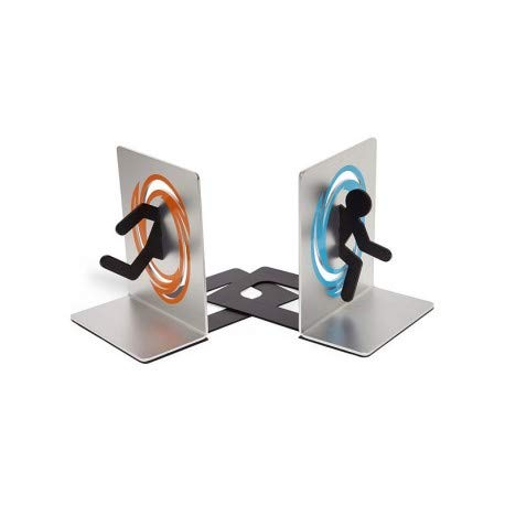 ThinkGeek - Portal Bookends Blue & Orange Portal by TOMIYA