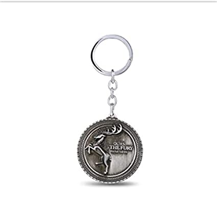 FITIONS - Game Of Thrones KeyChain Metal Key Chain House ...