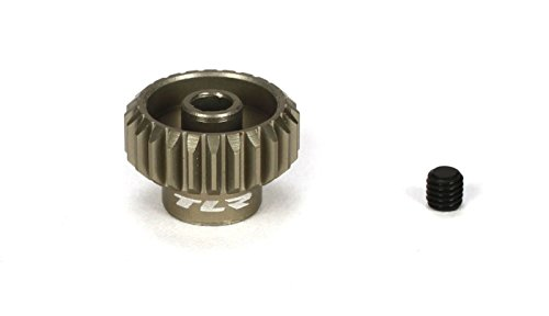 Team Losi Racing 48P Aluminum Pinion Gear, 24T, TLR332024