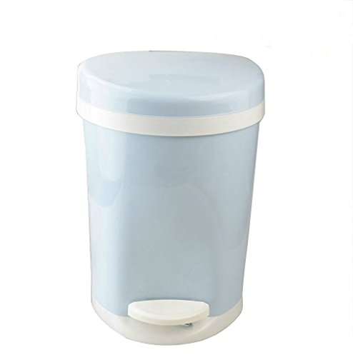 Cand 1.6 Gallon Plastic Round Step Trash Can
