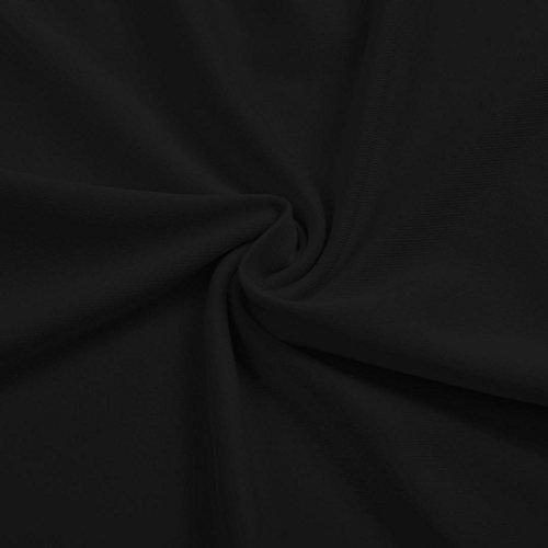 Top da Donne Eleganti Spalline con da Manica Estiva Donna M Donna Nero Donna Manica Camicie Camicetta B Manica a Top corta Senza shirt a corta 01 Sonnena da B stampa Nero Lunga T Maglietta stampa 01 4wz7qO7