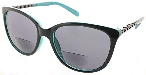 Women's Fiore Maui Bifocal Cateye Sunglasses Sun Readers Reading - Sunglasses Reading Bifocal