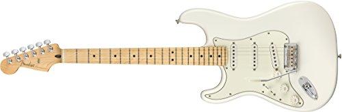 Fender Player Stratocaster Electric Guitar - Maple LH Fingerboard - Polar White