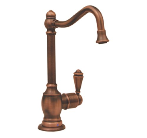 Whitehaus WHFH-C3132-ORB Point Of Use 5 1/2-Inch Drinking Water Faucet with Traditional Spout, Oil Rubbed Bronze by Whitehaus