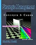 Strategic Management, David, Fred R., 067521386X