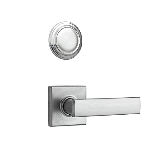 26d Satin Chrome Dummy (Kwikset 977VDL SQT 26D 977VDL-26D Satin Chrome Vedani Dummy Interior Pack for Contemporary Handlesets)