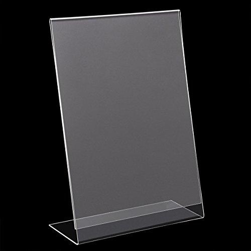 10 X A5 Acrylic Poster Menu Holder Perspex Leaflet Display