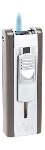 Visol Sigma Gunmetal Single Jet Flame Cigar Lighter (Lighter Single Jet)