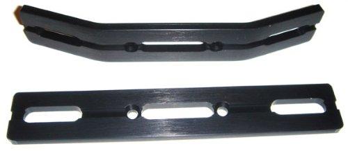 - RC Raven E-Revo or Revo 3.3 Black Anodized Aluminum Bumper Set