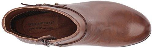 Rockport Cobb Bakke Samling Womens Cobb Bakke Rashel Spenne Boot Mandel Skinn Skoen
