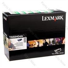 - Lexmark T650 Toner Cartridge - OEM - OEM# T650H04A - Standard - 25K MONOCHROME