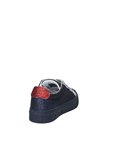 EN0EN00162 Donna Rosso Hilfiger Sneakers Tommy 39 Fwa6n