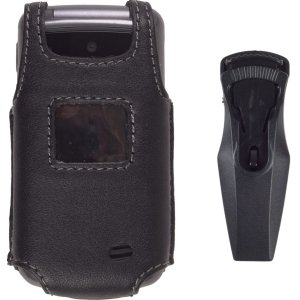 Leather Clip Solutions Wireless (Wireless Solution Premium Swivel Belt Clip Leather Case for LG VX5500)