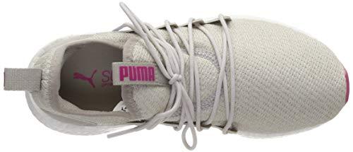– Neko Ginnastica fuchsia Purple silver Grigio puma Knit White Da Puma Unisex Bambini Nrgy Jr Scarpe Basse Gray 1wf4z5
