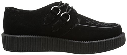 T Donna Creeper Sole Round K Low Sneaker Nero U Basse Black 81r8SB