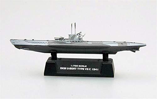 Easy Model WWII German Type VII U-7C Submarine U-Boat 1/700 Finish Ship
