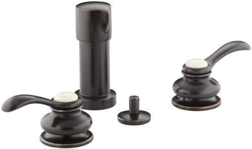 KOHLER K-12286-4-2BZ Fairfax Vertical Spray Bidet Faucet wit