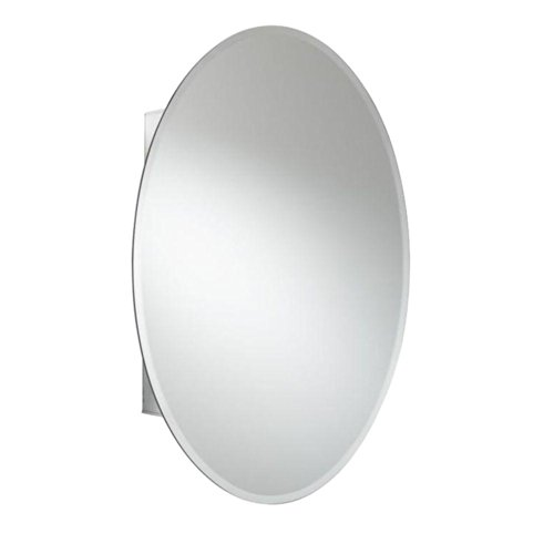 Incroyable Croydex Orwell 31 Inch X 21 Inch Oval Recessed Or Surface Mount Medicine  Cabinet