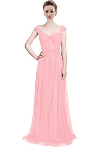 Vimans -  Vestito  - linea ad a - Donna Pink 1 46