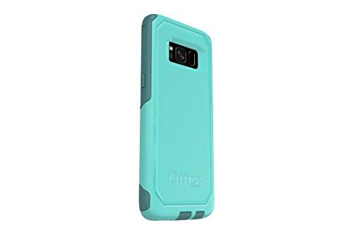 OtterBox COMMUTER SERIES for Samsung Galaxy S8 - Retail Packaging - AQUA MINT WAY (AQUA MINT/MOUNTAIN RANGE GREEN)
