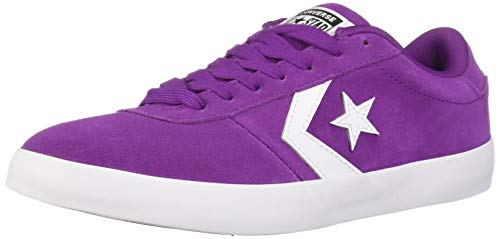 Converse Women's Point Star Low Top Sneaker, icon Violet White, 7 M US ()