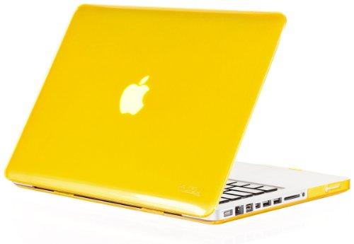 Kuzy - Yellow Plastic Case for Older MacBook Pro 13.3