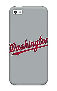 Anti-scratch And Shatterproof Washington Nationals Phone Case For Iphone 5c/ High Quality Tpu Case