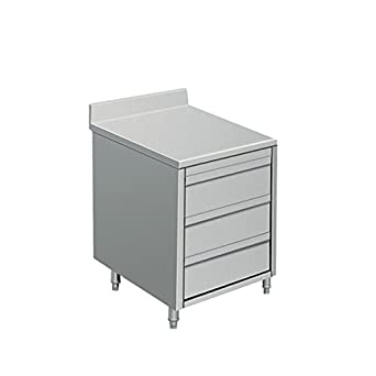Amazon.com: EQ Kitchen Line Stainless Steel Commercial 3 ...